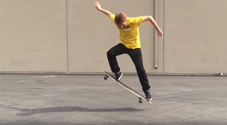how to ollie on a longboard